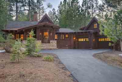 Truckee CA Single Family Home For Sale: $1,698,500