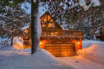 Truckee, Soda Springs, Carnelian Bay, Olympic Valley Single Family Home For Sale: 15450 Alder Creek Road