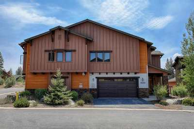 Truckee CA Condo/Townhouse For Sale: $835,000