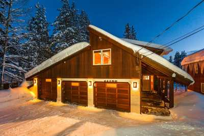 Truckee, Soda Springs, Carnelian Bay, Olympic Valley Single Family Home For Sale: 11750 Bennett Flat Road