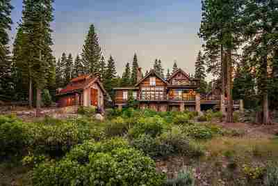 Truckee CA Single Family Home For Sale: $6,695,000