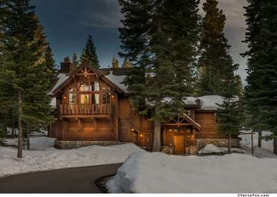 Truckee CA Single Family Home For Sale: $2,999,950