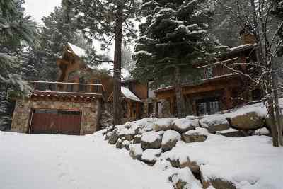 Tahoe City CA Single Family Home For Sale: $1,788,000