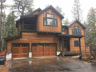 Tahoe City CA Single Family Home For Sale: $1,500,000