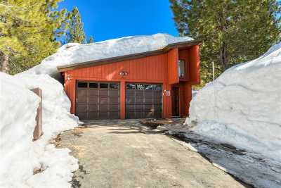 Truckee, Soda Springs, Carnelian Bay, Olympic Valley Single Family Home For Sale: 14935 Wolfgang Road #6