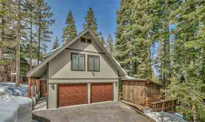 Truckee, Soda Springs, Carnelian Bay, Olympic Valley Single Family Home For Sale: 10868 Laurelwood Drive