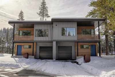 Truckee, Soda Springs, Carnelian Bay, Olympic Valley Condo/Townhouse Contingent: 268 Palisades Circle #21