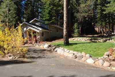 Truckee, Soda Springs, Carnelian Bay, Olympic Valley Single Family Home For Sale: 4511 Muletail Drive