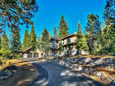 Truckee CA Single Family Home For Sale: $3,345,000