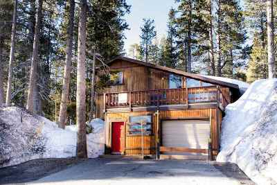 Soda Springs Single Family Home For Sale: 21084 Donner Pass Road