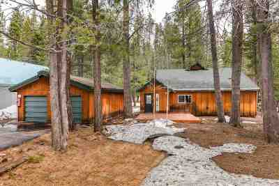Truckee Single Family Home Contingent: 14296 Glacier View Road