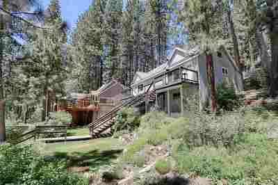 Donner Lake Single Family Home For Sale: 14540 Donner Pass Road