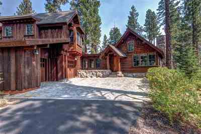 Martis Valley Single Family Home For Sale: 8540 Lahontan Drive