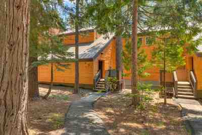 Tahoe City Condo/Townhouse For Sale: 2755 North Lake Boulevard #49