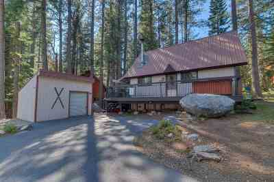 Truckee, Soda Springs, Carnelian Bay, Olympic Valley Single Family Home For Sale: 50866 White Fir Terrace