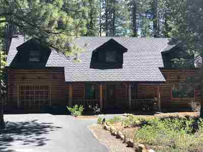 Tahoe Donner Single Family Home For Sale: 13630 Ski View Loop
