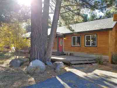 Truckee, Soda Springs, Carnelian Bay, Olympic Valley Single Family Home For Sale: 10690 Martis Valley Road