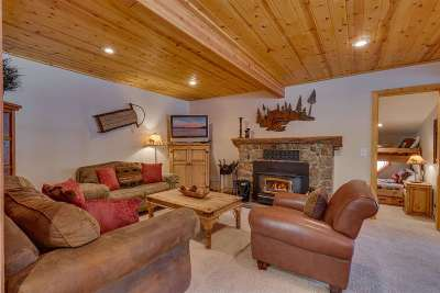 Tahoe City CA Single Family Home For Sale: $775,000