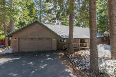 Truckee, Soda Springs, Carnelian Bay, Olympic Valley Single Family Home For Sale: 4570 North Ridge Road