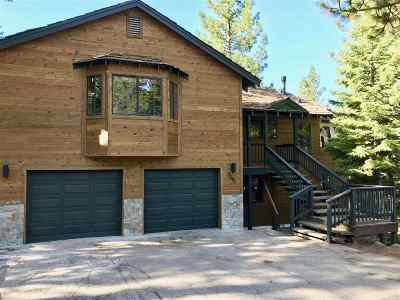 Tahoe City CA Single Family Home For Sale: $1,595,000