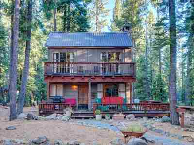 Tahoe City, Tahoe Vista, Kings Beach, Carnelian Bay Single Family Home For Sale: 550 Tamarack Lane