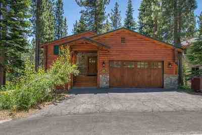 Tahoe City CA Single Family Home For Sale: $899,000