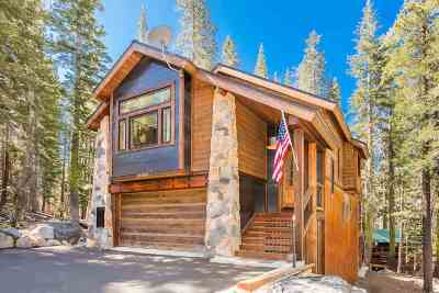 Truckee, Soda Springs, Carnelian Bay, Olympic Valley Single Family Home For Sale: 21705 Lotta Crabtree