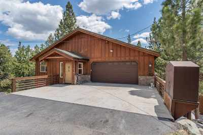Truckee, Soda Springs, Carnelian Bay, Olympic Valley Single Family Home For Sale: 14817 Alder Creek Road