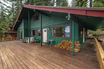 Truckee, Soda Springs, Carnelian Bay, Olympic Valley Single Family Home For Sale: 3725 North Lake Boulevard