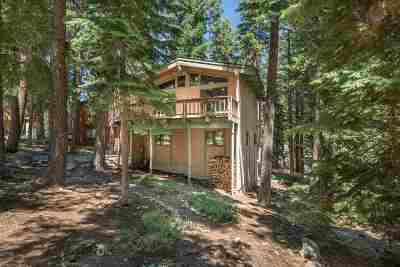 Tahoe City, Tahoe Vista, Kings Beach, Carnelian Bay Single Family Home For Sale: 4516 Piney Wood Road