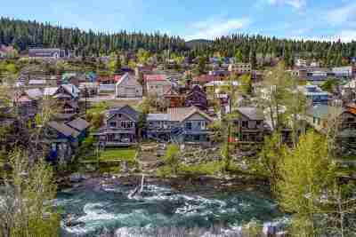 Truckee, Soda Springs, Carnelian Bay, Olympic Valley Single Family Home For Sale: 10153 Riverside Drive #A &