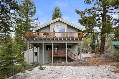 Tahoe City Single Family Home For Sale: 1851 Toboggan Road