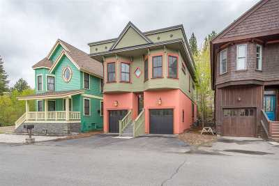 Truckee, Soda Springs, Carnelian Bay, Olympic Valley Single Family Home For Sale: 10049 Southeast River Street