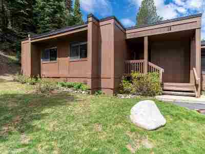 Truckee, Soda Springs, Carnelian Bay, Olympic Valley Condo/Townhouse For Sale: 3003 Meadow Court #10