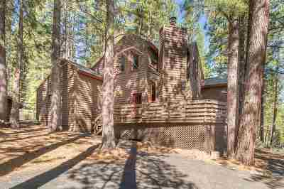 Truckee, Soda Springs, Carnelian Bay, Olympic Valley Single Family Home For Sale: 147 Basque