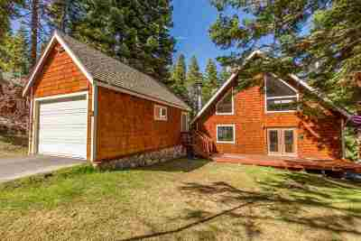 Tahoe City Single Family Home For Sale: 1220 Big Pine Drive
