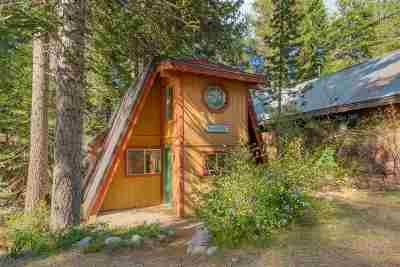 Donner Lake Single Family Home For Sale: 15400 South Shore Drive