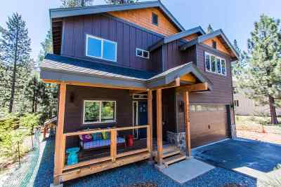 Truckee, Soda Springs, Carnelian Bay, Olympic Valley Single Family Home For Sale: 11336 Wolverine Circle
