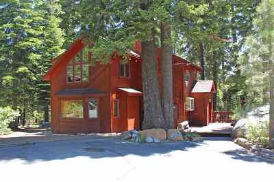 Truckee, Soda Springs, Carnelian Bay, Olympic Valley Single Family Home For Sale: 12926 Davos Drive