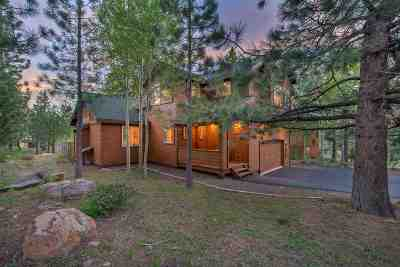 Truckee, Soda Springs, Carnelian Bay, Olympic Valley Single Family Home For Sale: 13105 Solvang Way