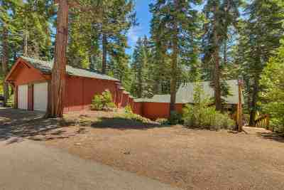 Tahoe City, Tahoe Vista, Kings Beach, Carnelian Bay Single Family Home For Sale: 5080 Nevada Street