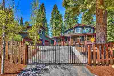 Truckee, Soda Springs, Carnelian Bay, Olympic Valley Single Family Home For Sale: 11120 Rancho View Court
