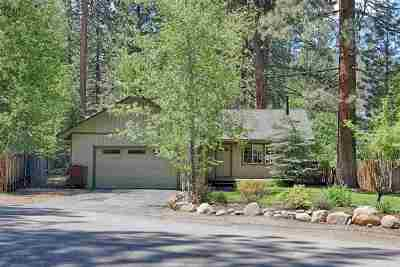 Tahoe City, Tahoe Vista, Kings Beach, Carnelian Bay Single Family Home For Sale: 375 W Agatam Avenue
