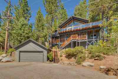 Tahoe City, Tahoe Vista, Carnelian Bay Single Family Home For Sale: 46 Tahoma Avenue