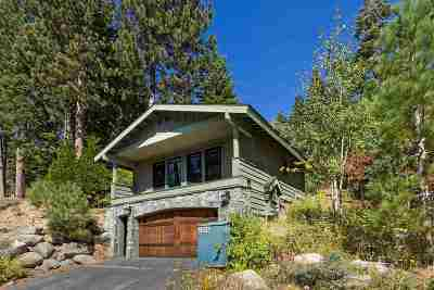 Tahoe City, Tahoe Vista, Carnelian Bay Single Family Home For Sale: 3550 Courchevel Road