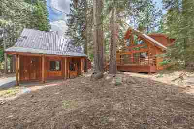 Truckee CA Single Family Home For Sale: $575,000
