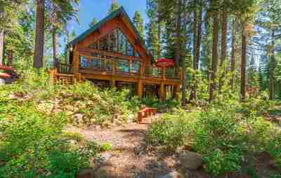 Tahoe City, Tahoe Vista, Kings Beach, Carnelian Bay Single Family Home For Sale: 1150 Canterbury Drive