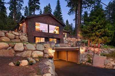 Tahoe City Single Family Home For Sale: 520 Bunker Road