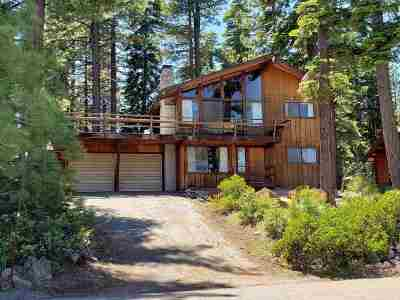 Tahoe City Single Family Home For Sale: 209 Edgewood Drive