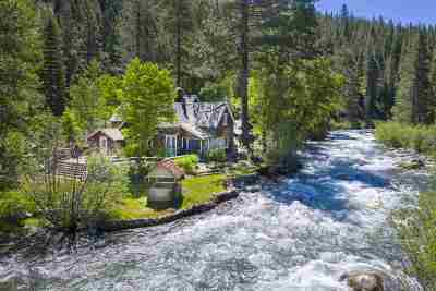 Olympic Valley Single Family Home For Sale: 3060 River Road